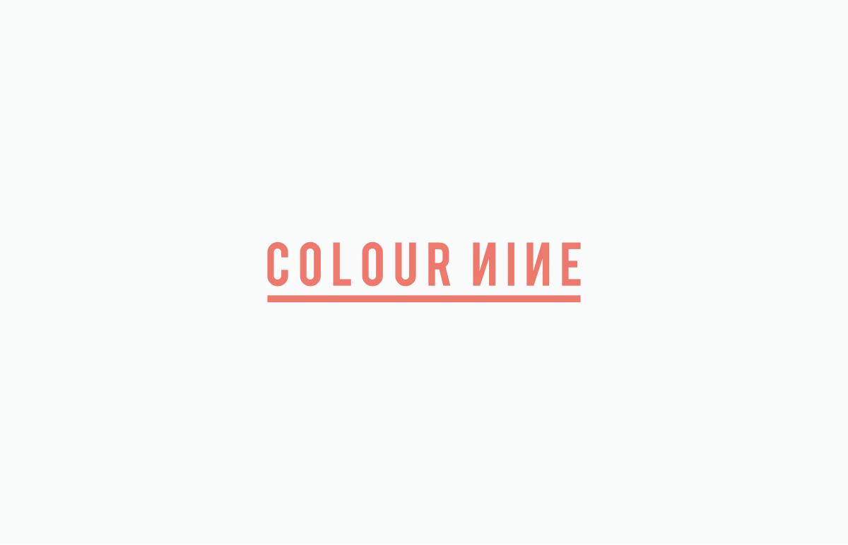 Logo design for London based marketing agency, Colour Nine.