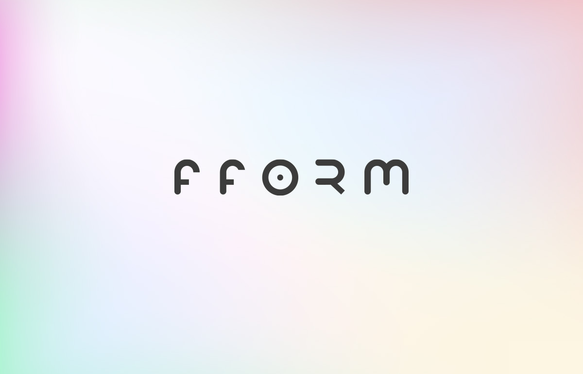 Logo design for Fform, a lifestyle gym in London Borough of Bromley, Kent.