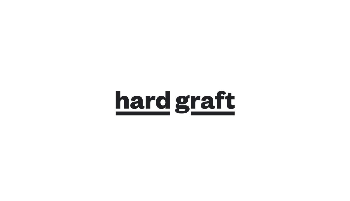 Logotype design for publishing company, Hard Grit.